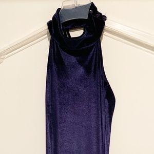 Bebe Velvet Mini Dress